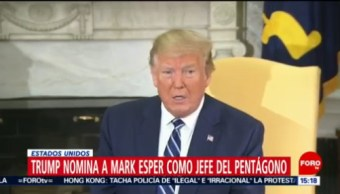 FOTO: Trump advierte si hay guerra contra Irán habrá una destrucción nunca antes vista, 22 Junio 2019