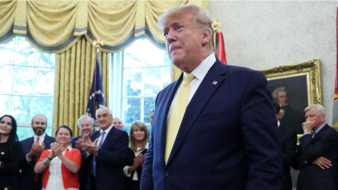 Foto: Donald Trump, presidente de Estados Unidos. El 19 de junio de 2019