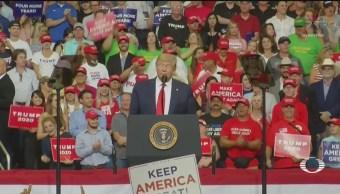 Foto: Trump Habla Migración Anuncio Contender Reelección 18 Junio 2019