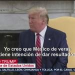 FOTO: Trump lanza nueva amenaza a México