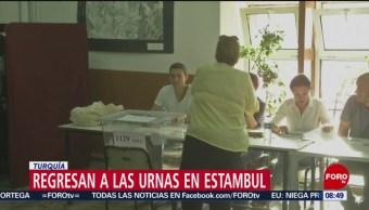 FOTO: Turcos regresan a las urnas en Estambul, 23 Junio 2019