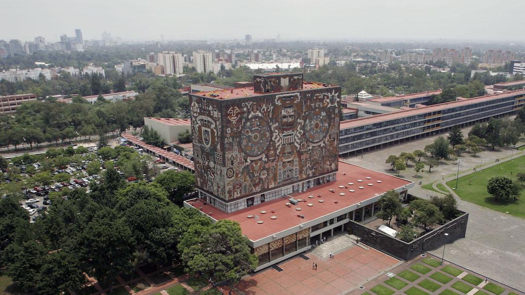 Foto UNAM Centro Educativo Comunidad Indígena 7 Junio 2019