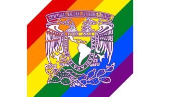 foto UNAM celebra diversidad sexual con colores de bandera LGBTI+ 28 junio 2019