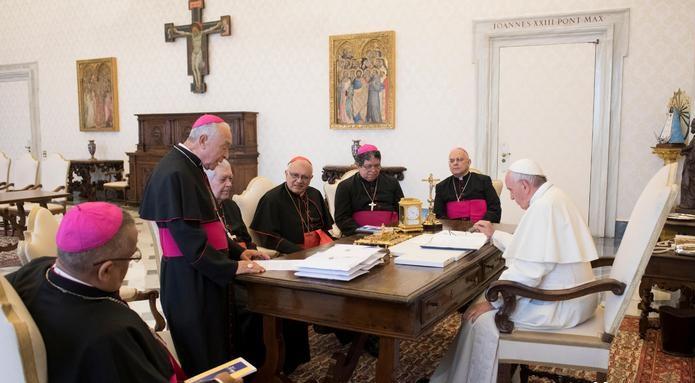 Foto: Representantes del Vaticano participan en reunión sobre Venezuela en Suecia, 15 mayo 2019