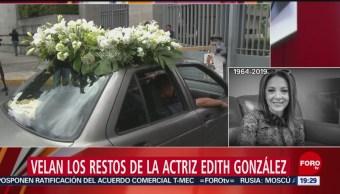 Foto: Velan Restos Actriz Edith González Panteón Francés 13 Junio 2019