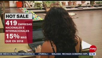Ventas de Hot Sale repuntan 77 por ciento, en términos anuales