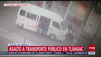 Foto: Video Asalto Combi Tláhuac 13 Junio 2019