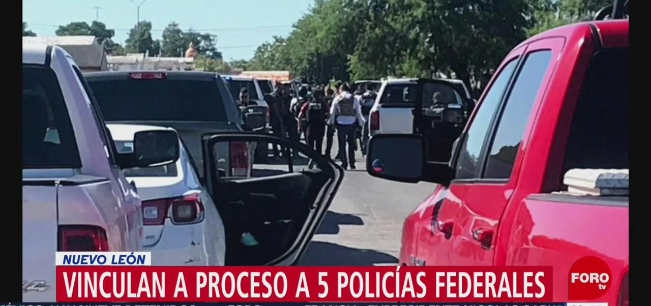 Foto: Vinculan Proceso Federales Implicados Homicidio NL 19 Junio 2019