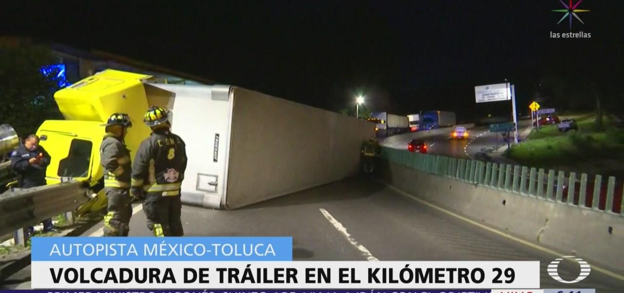 Voladura en la México-Toluca deja un muerto