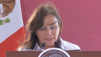 FOTO Ya hay manifestación de impacto ambiental de Dos Bocas, dice Rocío Nahle (YouTube Gobierno de México 2 junio 2019 tabasco)