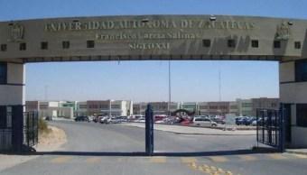 Detienen a presunto asesino de estudiante en Universidad de Zacatecas