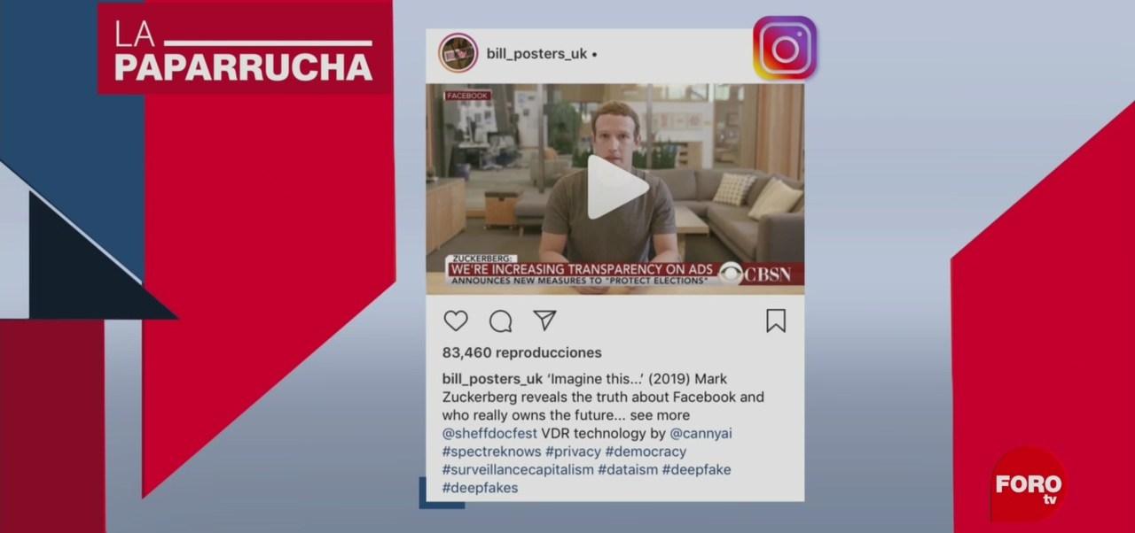 Foto: Zuckerberg Datos Personales Noticias Falsas 14 Junio 2019