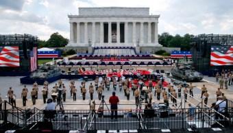 Foto: EU prepara desfile militar para este 4 de julio por Día de la Independencia, Washington