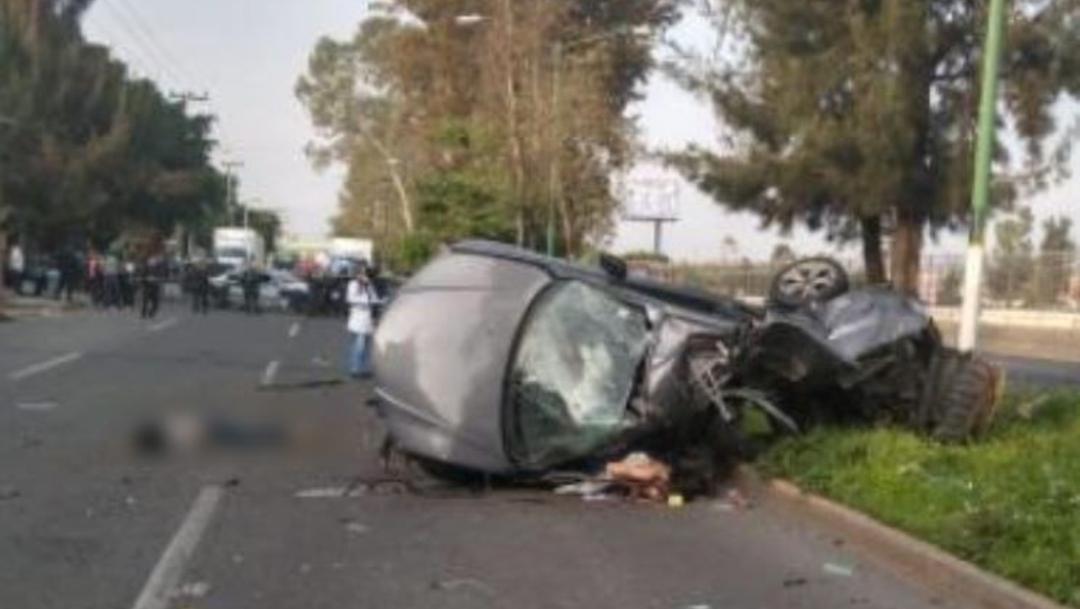 Foto: Este domingo se registró un aparatoso accidente en Avenida Central, 21 julio 2019