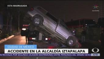 Accidente en la alcaldía Iztapalapa deja un muerto