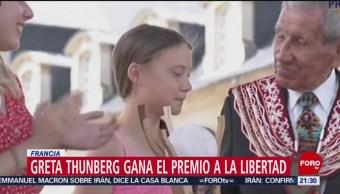FOTO:Adolescente gana el Premio a la Libertad en Francia, 21 Julio 2019