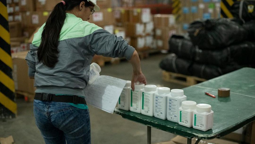 compra de medicinas por el gobierno federal