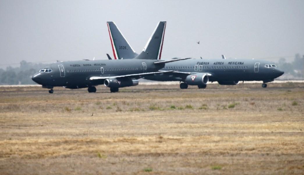 Foto: Base aérea en Santa Lucía, 26 de abril de 2019, México
