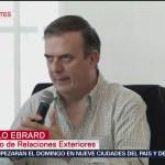 FOTO: Al momento no hay connacionales detenidos: Ebrard, 14 Julio 2019