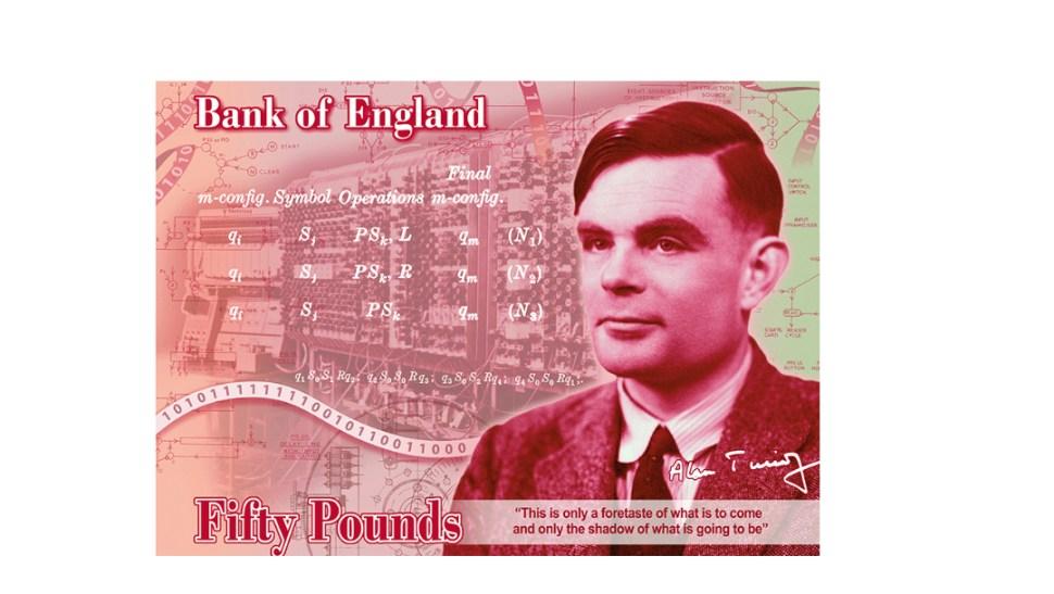 FOTO Alan Turing será rostro del nuevo billete de 50 libras