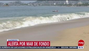 Foto: Alerta por mar de fondo en costas de Guerrero
