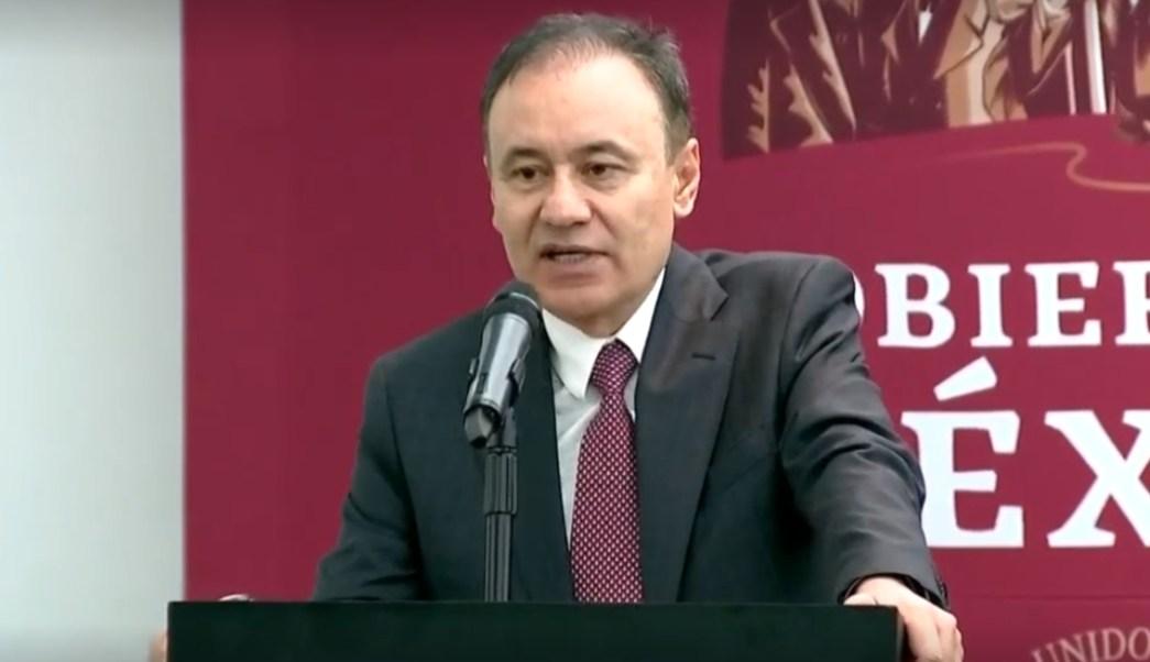 Foto: Alfonso Durazo, secretario de Seguridad y Protección Ciudadana, 4 de julio de 2019, Ciudad de México