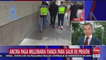 FOTO: Alonso Ancira paga millonaria fianza impuesta en España