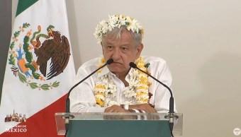 Foto: El presidente Andrés Manuel López Obrador dijo que los que no quieran contribuir a la transformación de México son conservadores, el 28 de julio de 2019 (Gobierno de México YouTube)