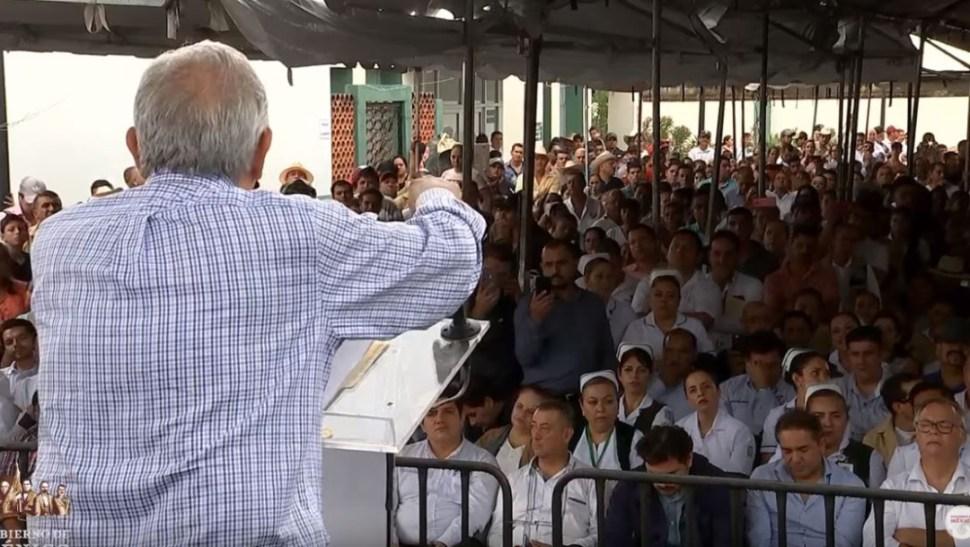Foto: El presidente Andrés Manuel López Obrador reitera que continuará apoyando a los más necesitados, el 14 de julio de 2019 (Gobierno de México YouTube)