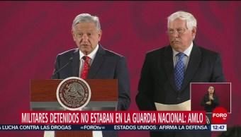 AMLO: Secuestradores detenidos en Edomex no son de la Guardia Nacional