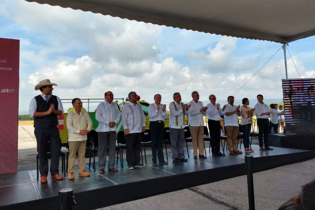 Foto: Planean detonar inversiones en proyectos turísticos, comerciales y de servicios, y beneficios directos para los habitantes de la Huasteca Potosina, julio 20 de 2019 (Twitter: @TorrucoTurismo)