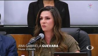 Foto: Ana Gabriela Guevara Comparece Diputados 8 Julio 2019