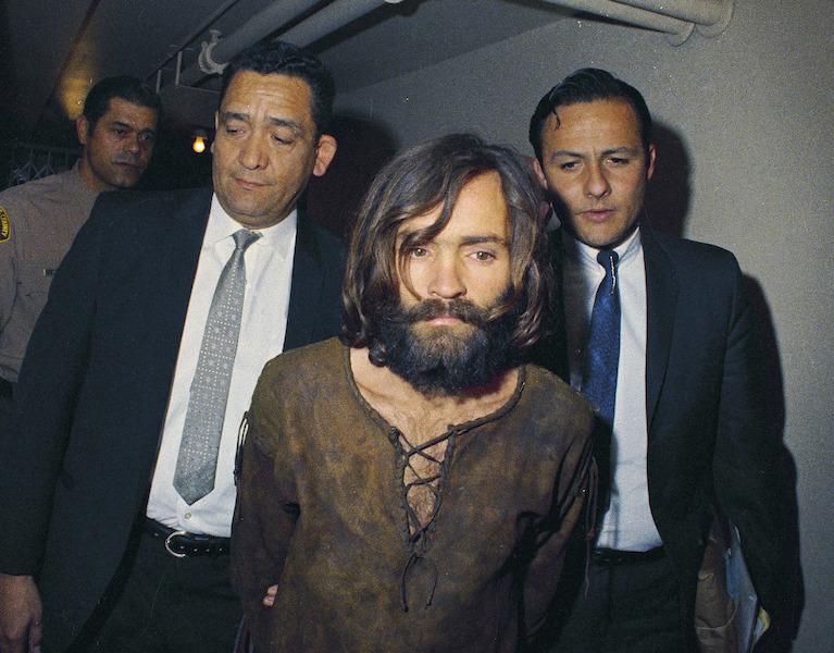 Foto: Charles Manson fue detenido y condenado por los asesinatos de siete personas. (1969). 25 de julio 2019