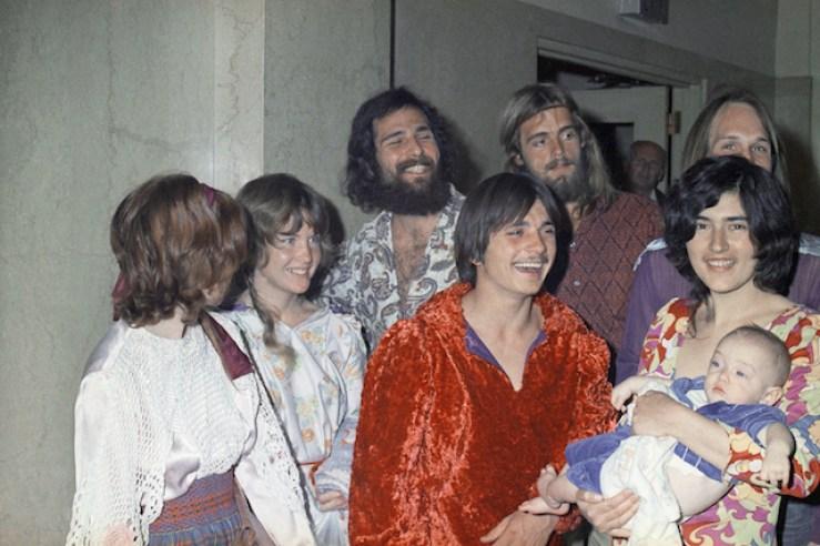 Foto: Familia Manson, 1970. 25 de julio 2019