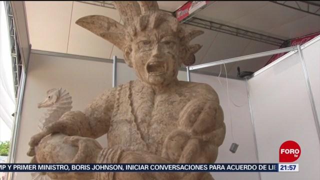 FOTO: Artesanos mayas expondrán sus obras en Yucatán, 28 Julio 2019