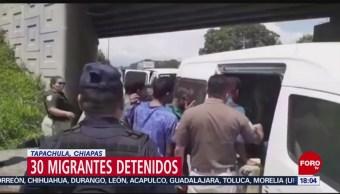 FOTO: Aseguran a 30 migrantes en Tapachula, 20 Julio 2019