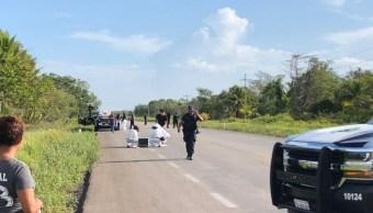 Asesinan a ocho personas en Bacalar, Quintana Roo