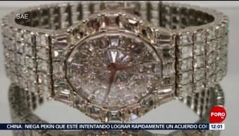 Así son las joyas que se subastarán el 28 de julio en Los Pinos