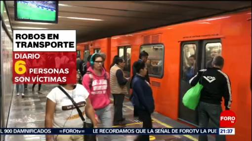 Foto: Aumentan Robos Metro CDMX 4 Julio 2019