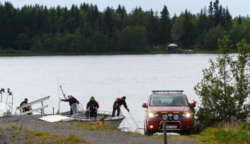 Foto: Una avioneta que llevaba paracaidistas se en Suecia al poco tiempo de despegar y las nueve personas que viajaban en la aeronave murieron, julio 14 de 2019 (Imagen: santamariatimes)