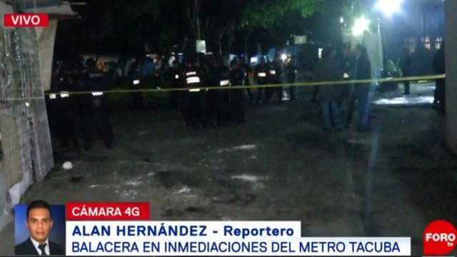 Intento de robo deja tres lesionados en la México- Tacuba