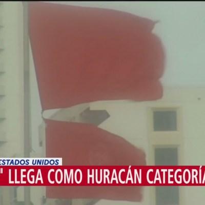 'Barry' llegó como huracán categoría 1 en Louisiana
