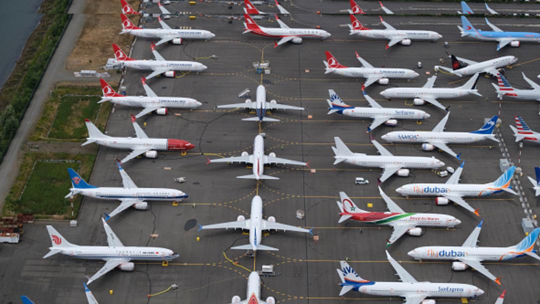 Foto: Boeing perdió un encargo de 50 aeronaves 737 MAX, 7 de julio de 2019 (Getty images)