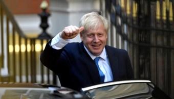 Foto: Boris Johnson recibió la felicitación del presidente Donald Trump por su nuevo cargo vía telefónica, el 28 de julio de 2019. (EFE)