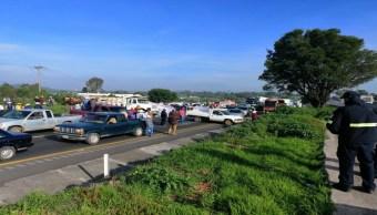 Foto Campesinos realizan bloqueos en diferentes puntos carreteros 17 julio 2019