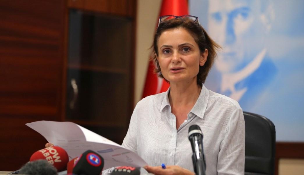 Foto: Canan Kaftancioglu, dirigente del Partido Republicano del Pueblo, 24 de junio de 2019, Estambul, Turquía
