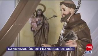 Canonización de Francisco de Asís