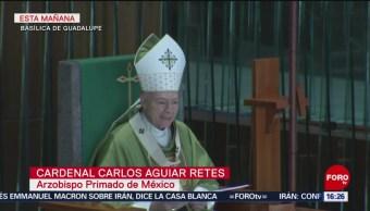 FOTO: Cardenal Aguiar Retes pide hacer el bien, 21 Julio 2019