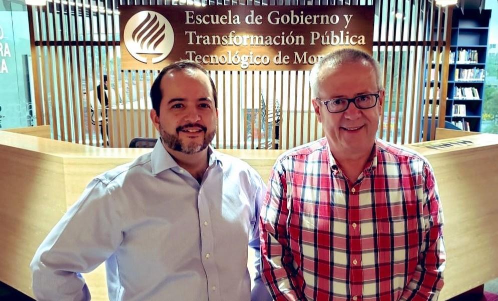 Foto: Carlos Urzúa y Alejandro Poiré, 11 de julio 2019. Twitter @EGobiernoyTP