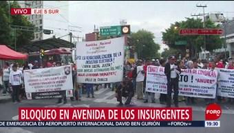 Foto: Cdmx Manifestantes Bloquean Insurgentes Eje 5 1 Julio 2019